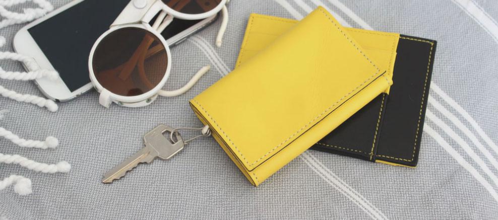 Porte-clés hurbane en cuir pour homme et autres accessoires de ... 99016800536
