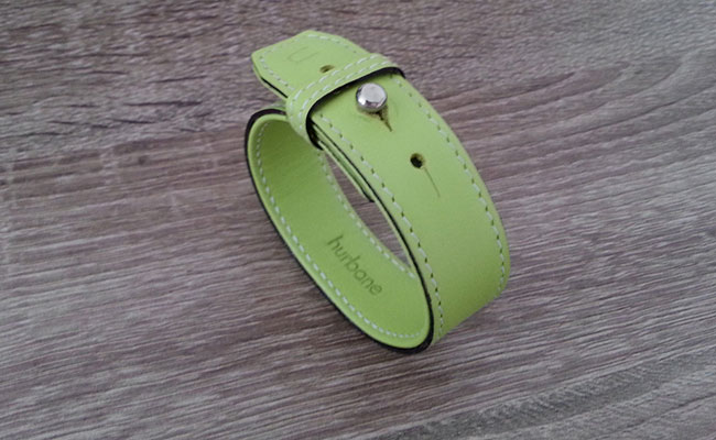 Timeless, Tropical Green leather strap for Men